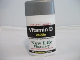 Vitamin D 2500